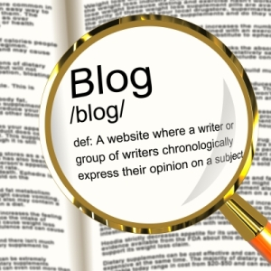 Blog definition image