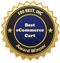 ShopIntegrator Best Shopping Cart Software Award