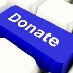 online donate button