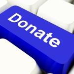 online donate button