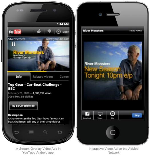 Mobile Social Ads