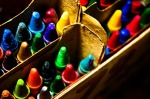 use colourful images on Pinterest