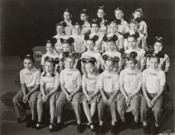 The Mouseketeers circa 1955