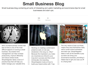 pinterest blog board